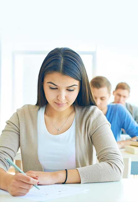Chica estudiando un trimestre en Irlanda
